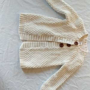 Old Navy, adorable cream sweater.